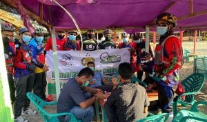 GMM Bike Community Bagi Masker