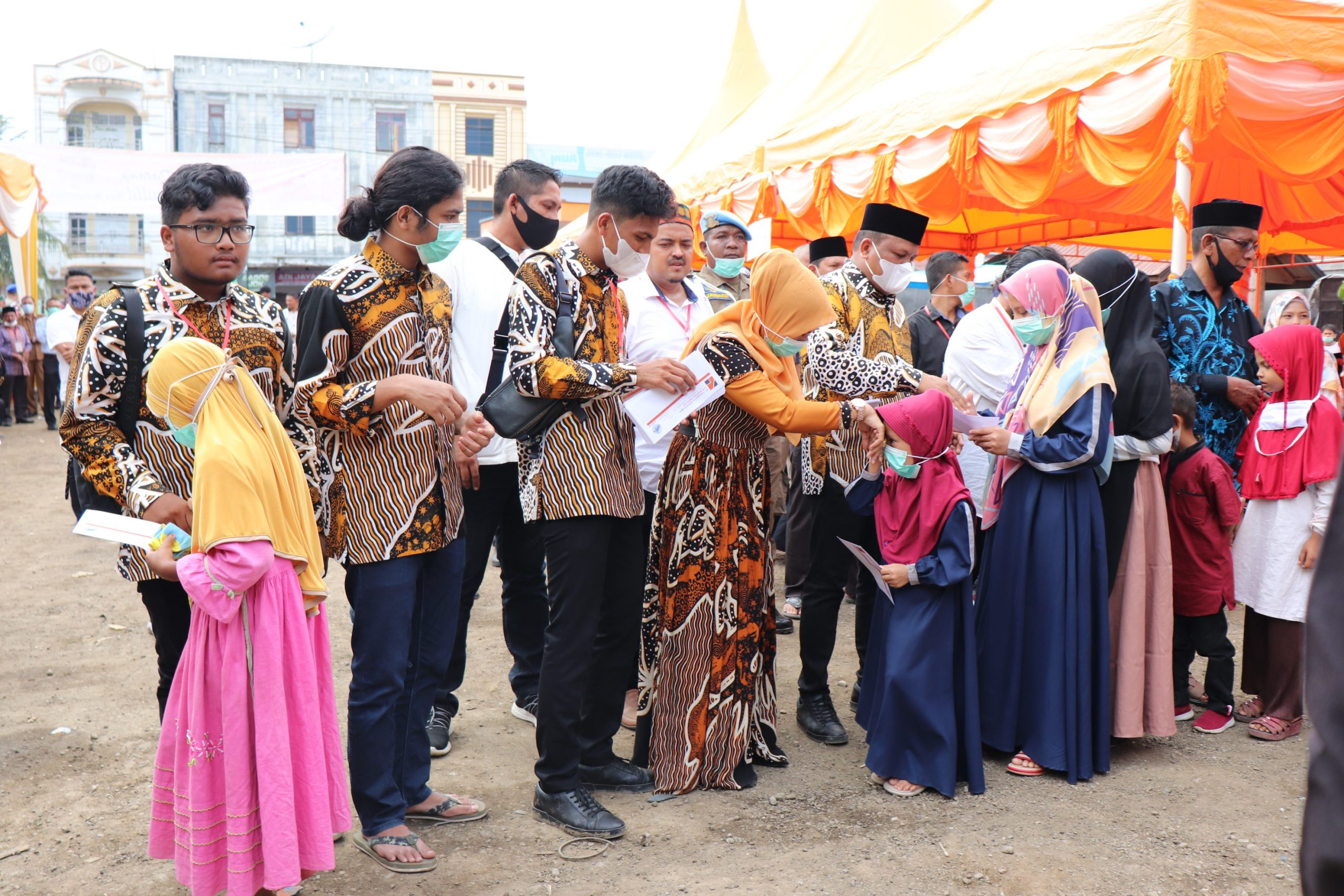 PT Takabeya Santuni 167 Anak Yatim