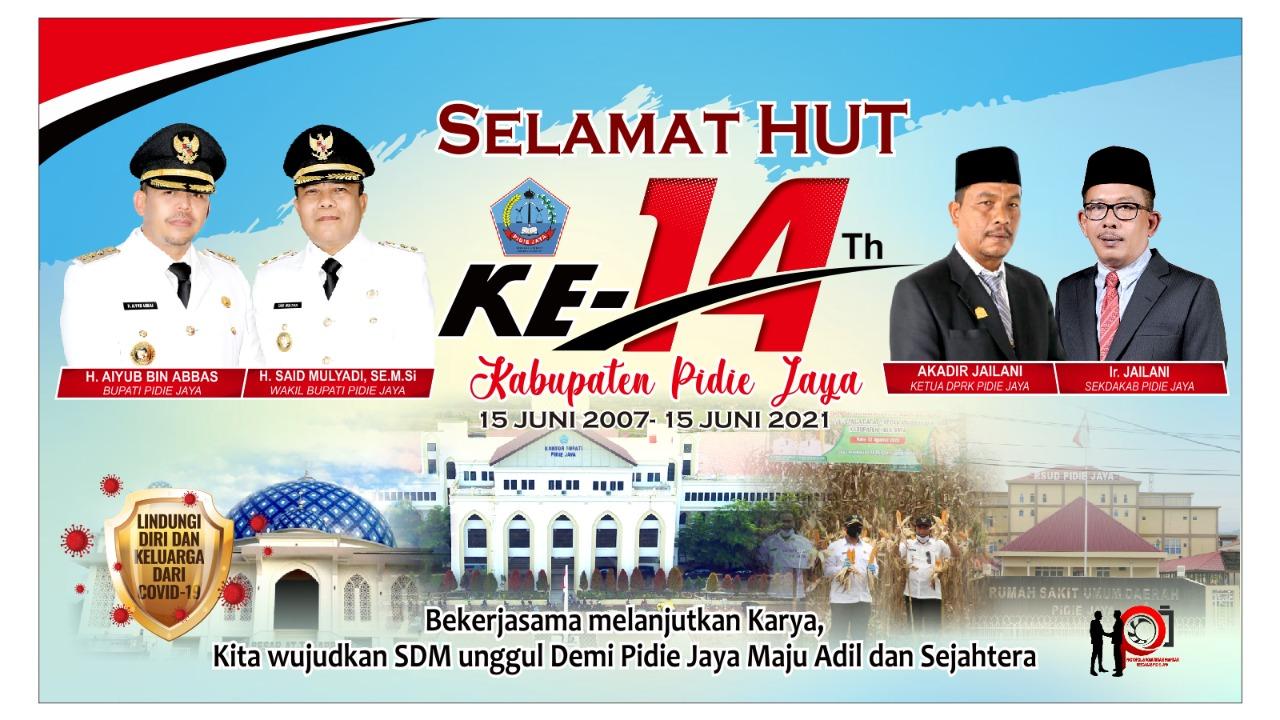 HUT Pidie Jaya Ke 14